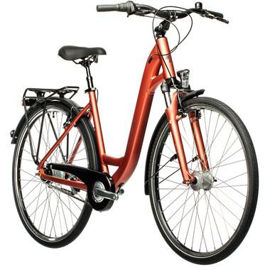 Vélo de Ville CUBE TOWN PRO WAVE Rouge 2021